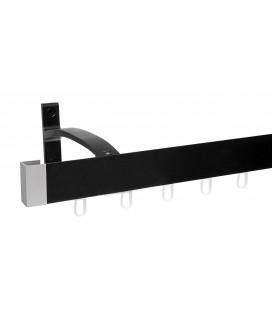 Garniža Modern jednoduchá čierna