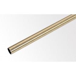 Drążek 200 cm Ø16 mm Efekt mosiądz antyczny