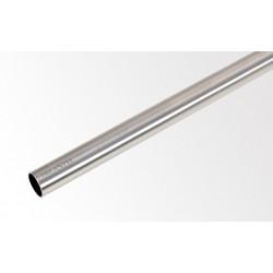 Drążek 160 cm Ø16 mm Efekt stali nerdzewnej