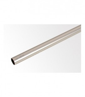 Tyč 240 cm Ø19 mm Satin nickel