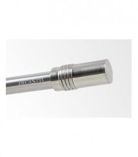 Koncovka Cylinder Efekt nerezová oceľ Ø16 mm kus