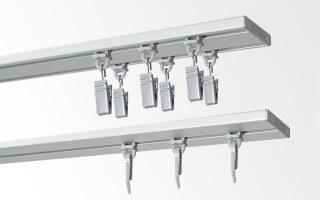 Profily stropní hliníkové stříbrně