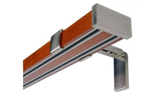 Kombinované garnýže dřevěno - kovové